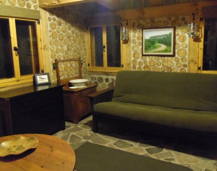 Mennonite built chest of drawers provides clean storage for your clothes.
