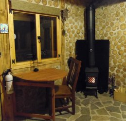 Table for work or games, drops down if you want more space.
