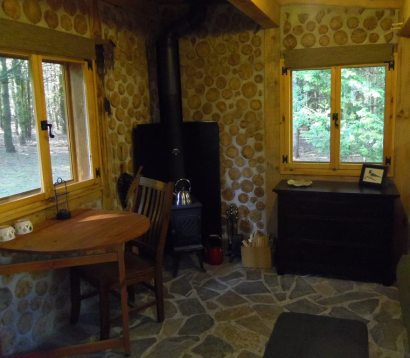 Ultra-private: The view from all windows is forest!