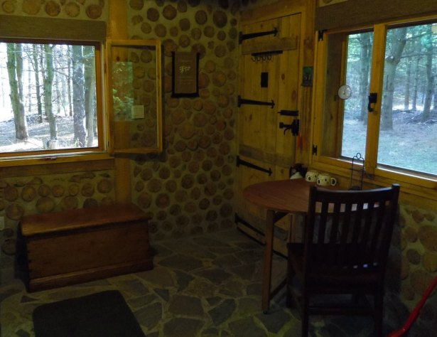 Open the windows and let in the forest sounds!