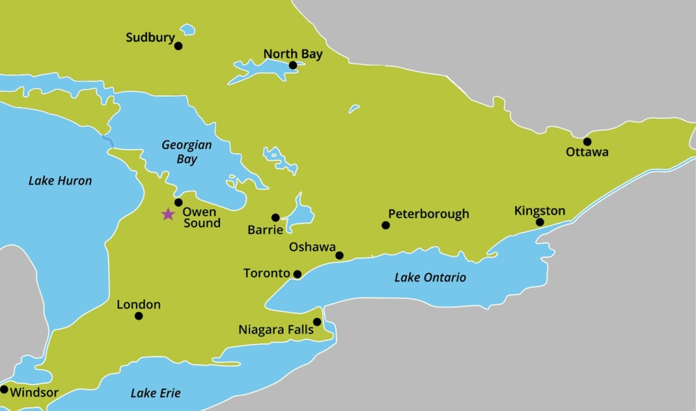 OGR-map